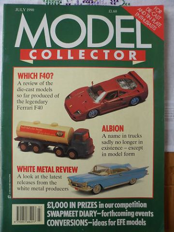ORIGINAL MODEL COLLECTOR MAGAZINE July 1990